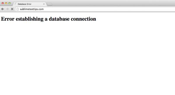 database-error