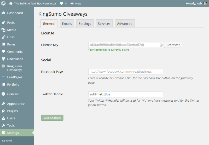King sumo giveaways discount